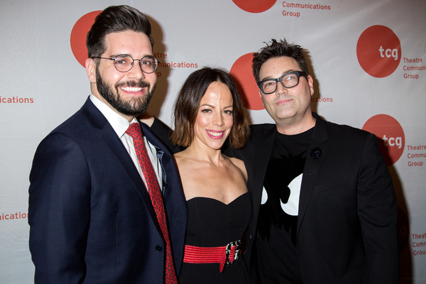 Rob Russo, Leslie Kritzer, Jamie DuMont Photo
