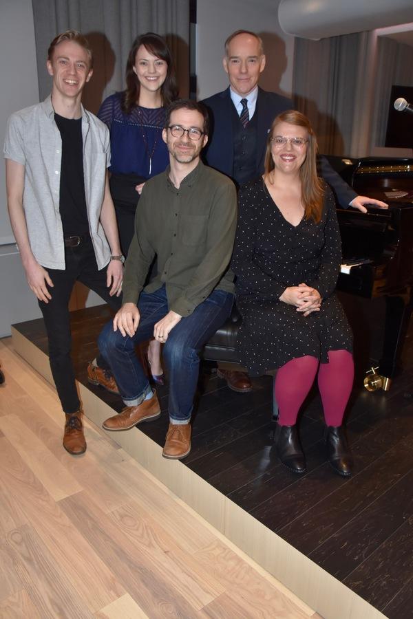 Sarah Hammond 2019 Kleban Prize Winner Lyricist  with Kyle Sherman, Will Aronson, Mallory Hawks and Michael Winther
