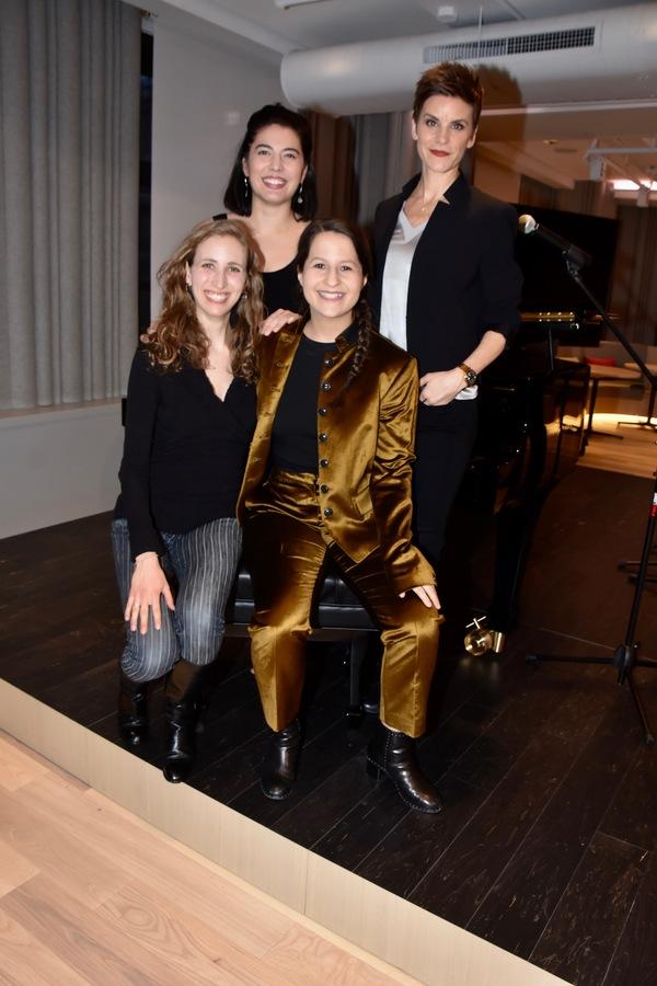 Shaina Taub 2019 Kleban Prize Winner Lyricist with Andrea Grody, Kim Blanck and Jenn Colella