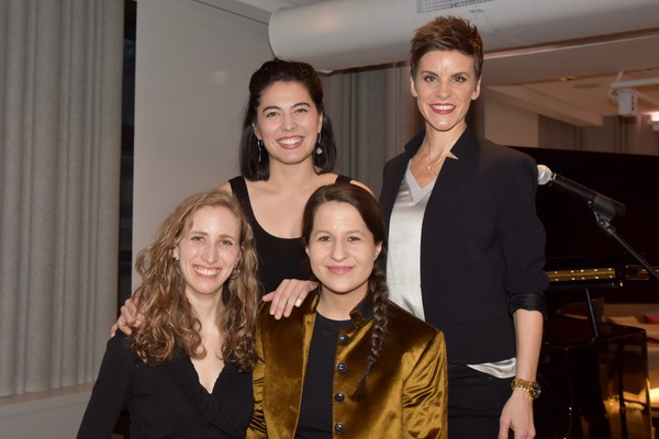 Shaina Taub 2019 Kleban Prize Winner Lyricist with Andrea Grody, Kim Blanck and Jenn  Photo