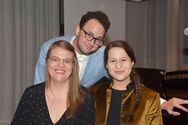 2019 Kleban Prize Winners for Musical Theatre-Sarah Hammond, Charlie Sohne and Shaina Taub