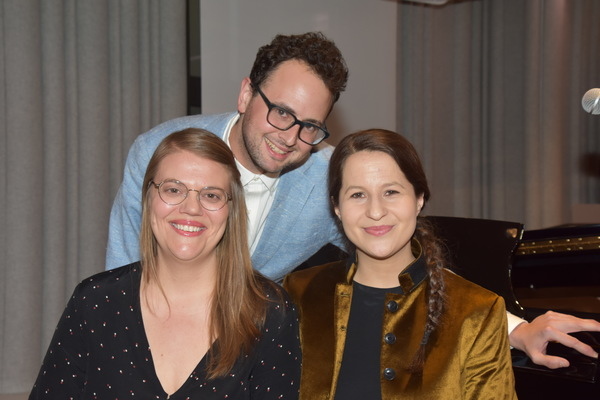 2019 Kleban Prize Winners for Musical Theatre-Sarah Hammond, Charlie Sohne and Shaina Taub