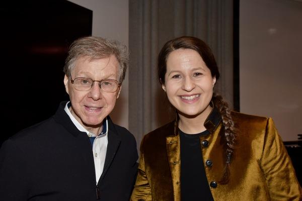 Maury Yeston and Shaina Taub