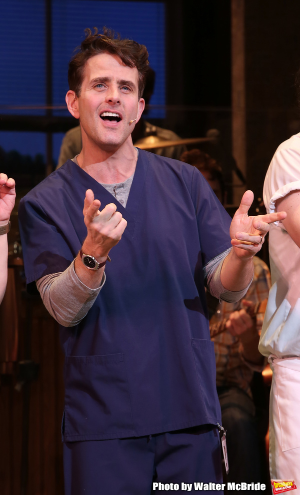 Photo Coverage: Joey McIntyre Takes His First Bows in WAITRESS
