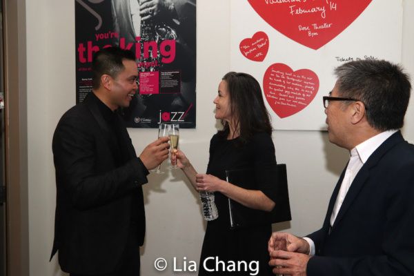 Jose Llana, Music Director Kimberly Grigsby and Jon Nakagawa, Director, Contemporary Programming, Lincoln Center for the Performing Arts, Inc.