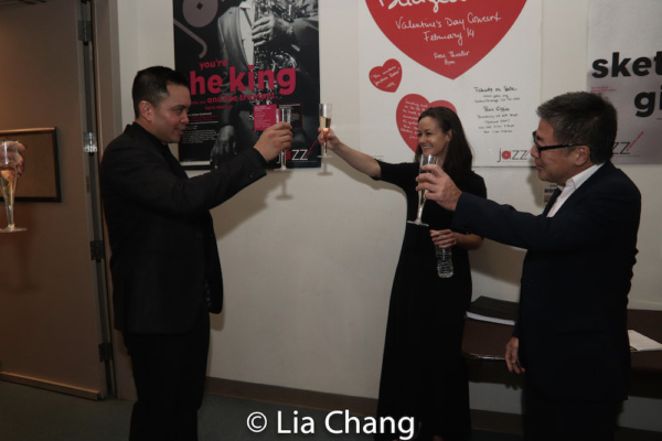 Jose Llana, Music Director Kimberly Grigsby and Jon Nakagawa, Director, Contemporary  Photo