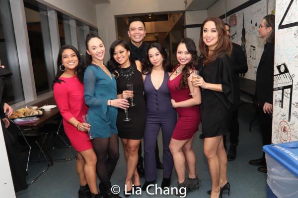 Shea Renne, Bellinda Allyn, Renee Albulario, Jose Llana, Geena Quintos, Carol Angeli and Jaygee Macapugay