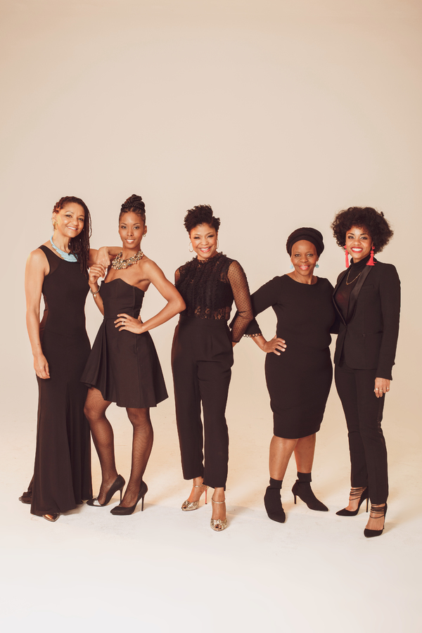 Angelica Edwards, India Bolds, Bonita Hamilton, Tshidi Manye, Bravita Threatt