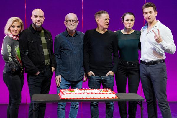 Orfeh, Eric Anderson, Jim Vallance, Bryan Adams, Samantha Barks, Andy Karl