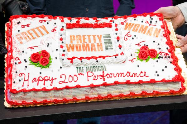 Photo Coverage: PRETTY WOMAN Celebrates 200 Performances On Broadway!