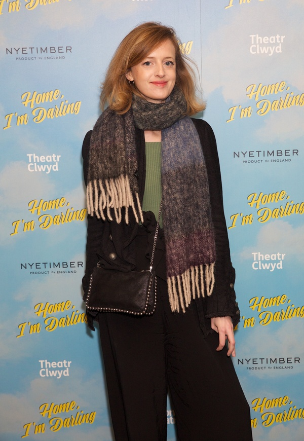 Photo Flash: Inside Opening Night of The National Theatre's HOME, I'M DARLING