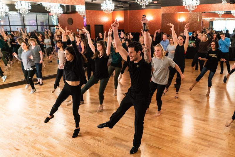 BWW Interview: DANCING WITH THE STARS' Val Brings Ballroom Dance to Atlanta Through Dance with Me