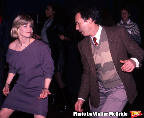 Candice Earley and Cliff Lipson dancing at a party for the Miracle Publishing Company Photo