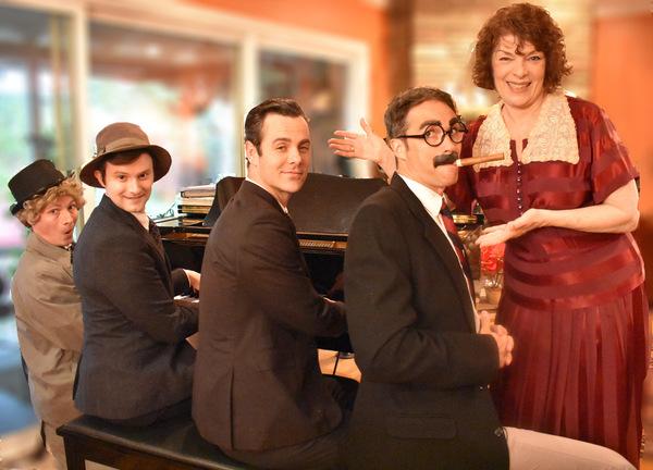 Photo Flash: Musical Theatre Guild Presents MINNIE'S BOYS
