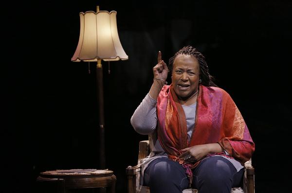 Photo Flash: Dael Orlandersmith Stars In UNTIL THE FLOOD At The Armory