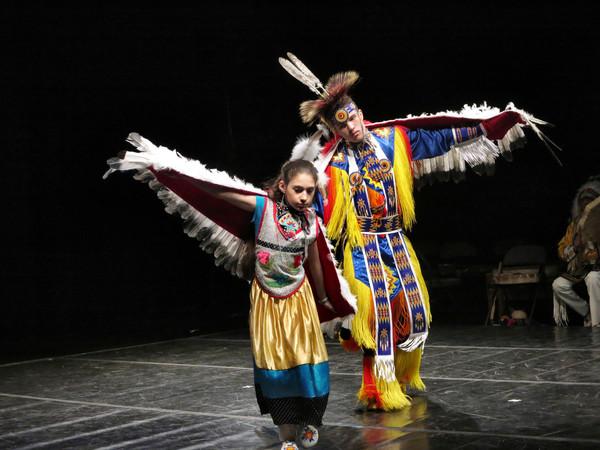 Isabelle Cespedes - Maya/Cherokee/Cree/Pawnee, and Ciaran Tufford - Maya/Cherokee/Cre Photo