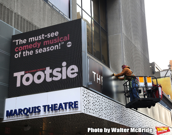 Up on the Marquee: TOOTSIE Arrives on Broadway!