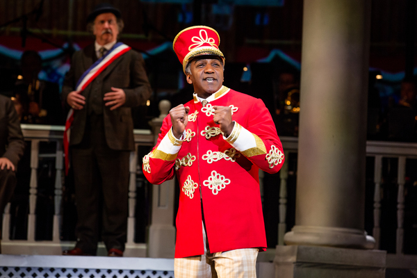 Photo Flash: Get A First Look At Norm Lewis, Jessie Mueller, and Rosie O'Donnell in THE MUSIC MAN