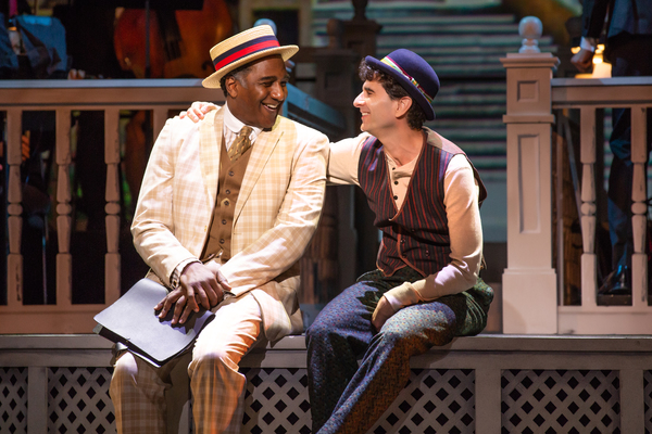 Norm Lewis and John Cariani