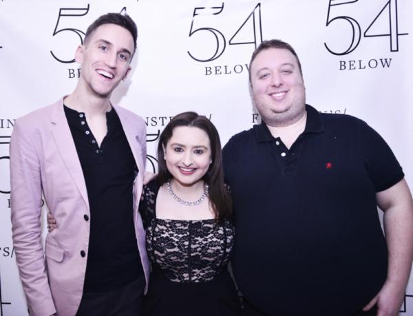 Alex Tobey, Jen Sandler and Ben Caplan