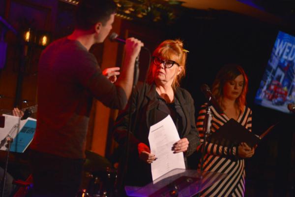Matt Doyle, Annie Golden and Margo Seibert