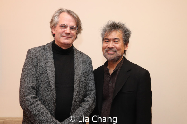 Bartlett Sher and David Henry Hwang