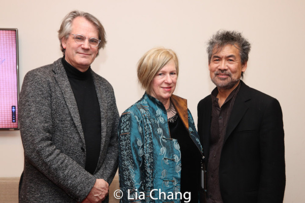 Bartlett Sher, Rachel Cooper and David Henry Hwang