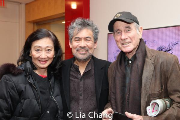 Tina Chen, David Henry Hwang and Jim Dale