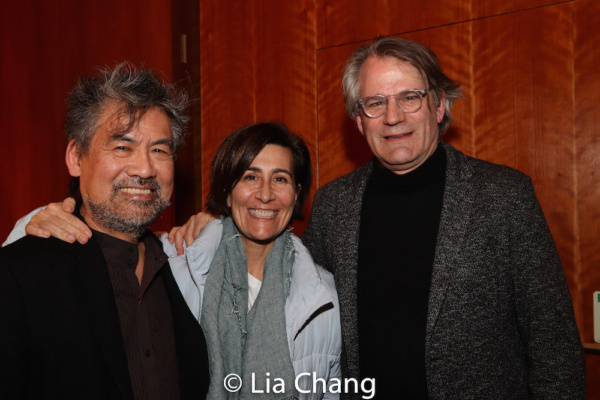 David Henry Hwang, Jeanine Tesori and Bartlett Sher