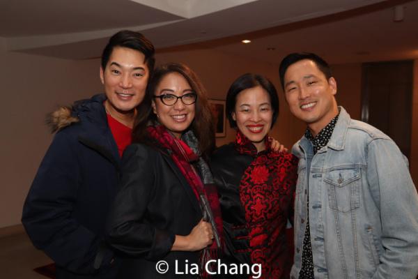 Austin Ku, Jaygee Macapugay, Lia Chang and Daniel May. Photo by Garth Kravits