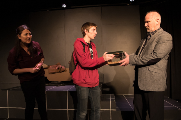Photo Coverage: First look at Curtain Players' The Curious Incident of the Dog in Night-Time