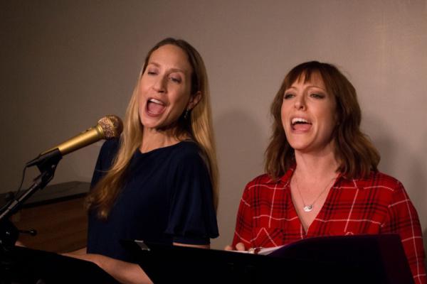 Laura Jordan and Pamela Bob in POSTCARD AMERICAN TOWN