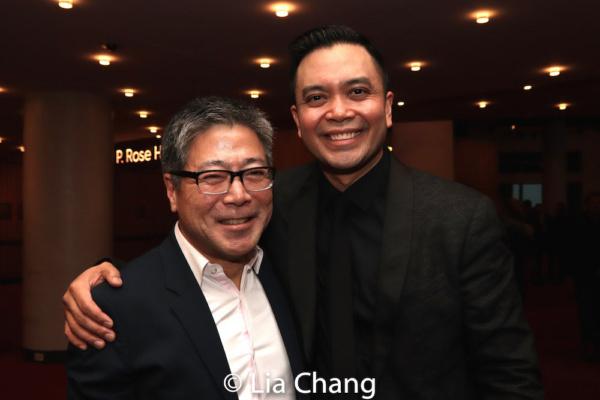 Jon Nakagawa, Director, Contemporary Programming, Lincoln Center for the Performing Arts, Inc. and Jose Llana