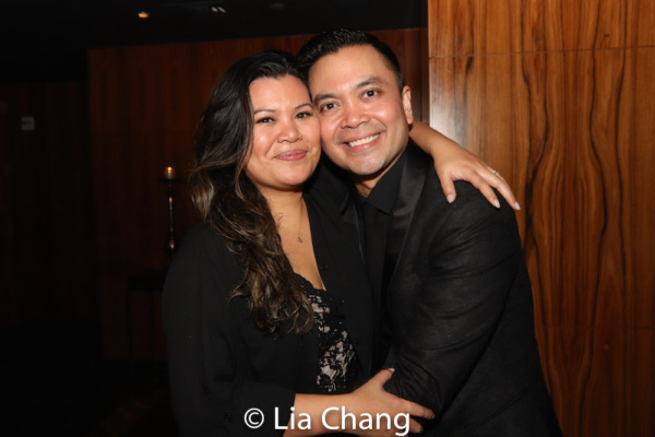 Liz Casasola and Jose Llana