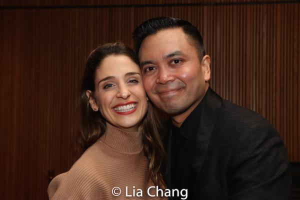 Elena Shaddow and Jose Llana