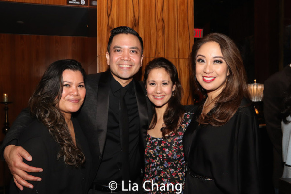 Liz Casasola, Jose Llana, Ali Ewoldt and Jaygee Macapugay Photo
