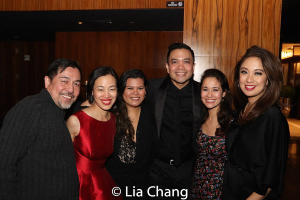 Alan Ariano, Lia Chang, Liz Casasola, Jose Llana, Ali Ewoldt and Jaygee Macapugay. Ph Photo