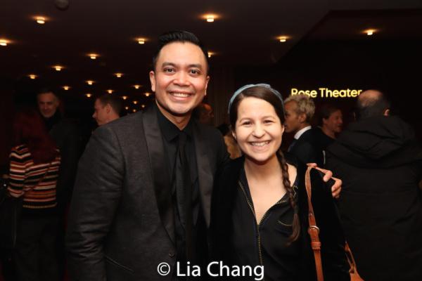 Jose Llana and Shaina Taub