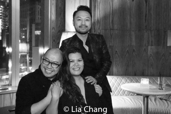 Broadway Barkada co-founders Brian Jose, Liz Casasola and Billy Bustamante Photo