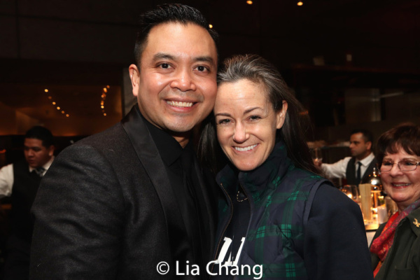 Jose Llana and his music director Kimberly Grigsby