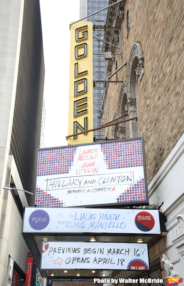 Theatre Marquee unveiling for Lucas Hnath's new drama