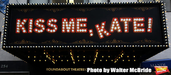Up On The Marquee:  KISS ME, KATE!