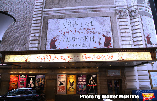 Up On The Marquee: GARY: A SEQUEL TO TITUS ANDRONICUS