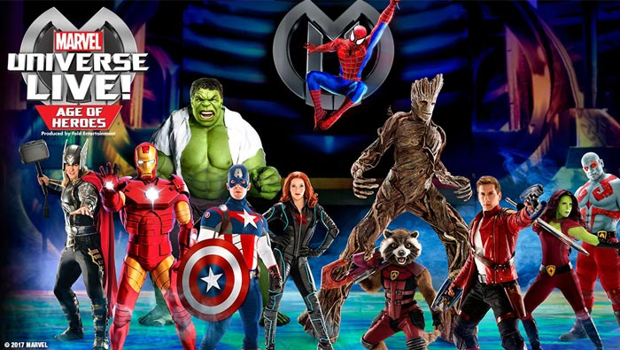 BWW Podcast: MARVEL UNIVERSE LIVE! AGE OF HEROES Pulls Birmingham Into Heroic Thrills With  Dazzling Special Effects