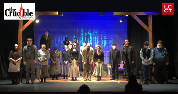 Arthur Miller''s ''The Crucible LCCT Presents continues for two more weekends at LCCT, 313 N. Main St. Shows are 7:30 p.m.    Fridays and Saturdays, Feb. 8-9 and 15-16, and 2 p.m. Sundays, Feb. 10 and 1