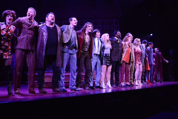 Bryan Fenkart, Conor Ryan, Jonny Amies, Erika Olson, Kyle Taylor Parker, Jen Perry and the cast