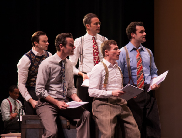 Photo Flash: First Look at Musical Theatre Guild's MINNIE'S BOYS