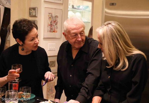 Lynn Ahrens, Neil Costa, Eda Sorokoff Photo