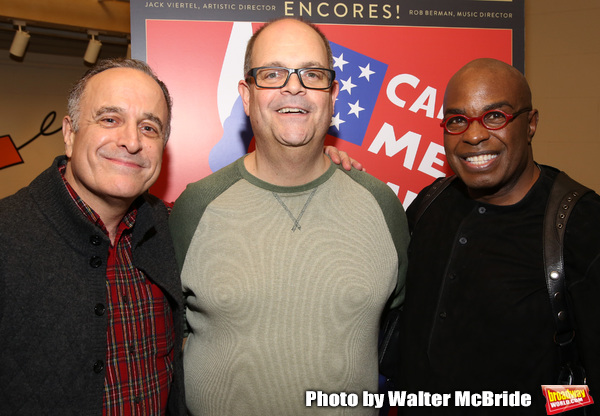 Adam Heller, Brad Oscar and Stanley Wayne Mathis