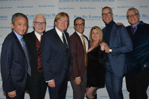 Yashuiro Kawana, Craig Haffner, Peter Noone, Hal Luftig, Sherry Wright, Jerry Mitchell (Director/ Choreographer) and Rick Elice (Book)